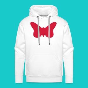 Butterfly sailing class logo - Männer Premium Hoodie