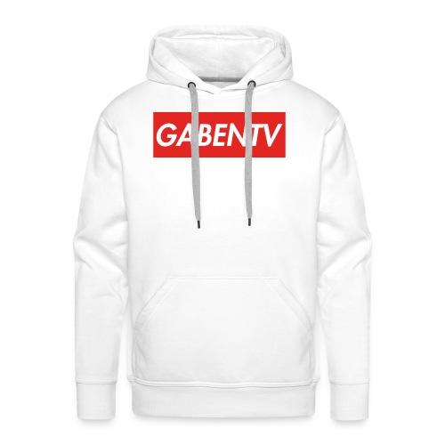 GabenTV Red - Herre Premium hættetrøje