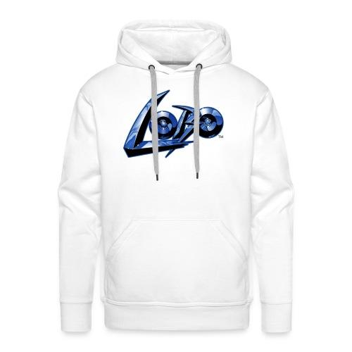 Logo di Lobo svg - Sudadera con capucha premium para hombre