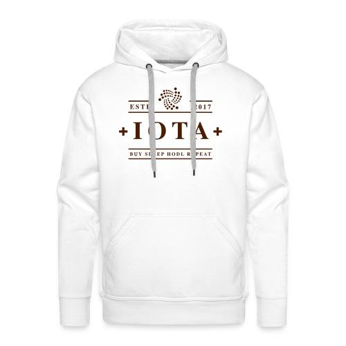 Iota Buy Sleep Hodl Repeat - Männer Premium Hoodie