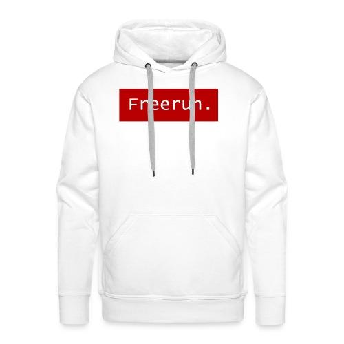 Freerun. - Mannen Premium hoodie