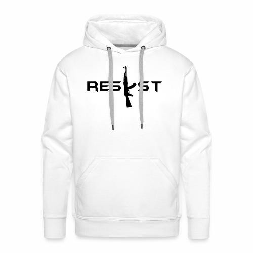 resist - Sweat-shirt à capuche Premium pour hommes