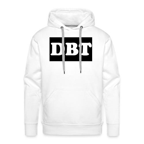 DBT Logo - Männer Premium Hoodie
