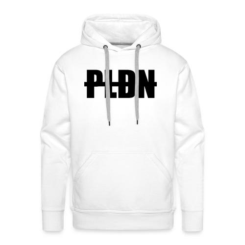PLDN weiß - Männer Premium Hoodie
