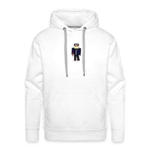 Personnage avec pistolet - Sweat-shirt à capuche Premium pour hommes