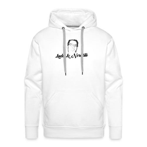 téte ludo le nordiste - Sweat-shirt à capuche Premium pour hommes