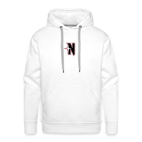 N Logo Standart - Männer Premium Hoodie