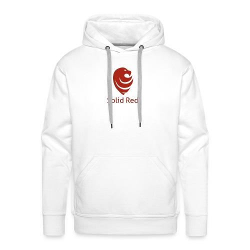 Solid Red - Männer Premium Hoodie