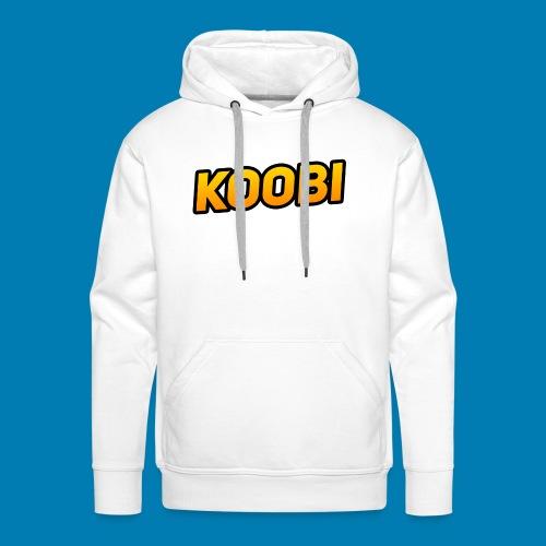 KOOBI Schriftzug - Männer Premium Hoodie