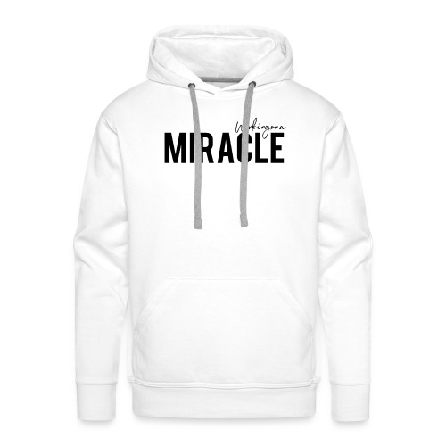 Working on a miracle IVF Top - Men's Premium Hoodie