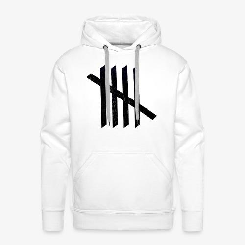 Nice logo - Herre Premium hættetrøje