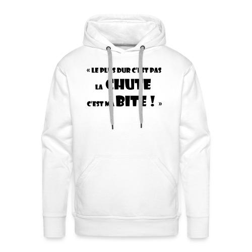 Dur comme - Sweat-shirt à capuche Premium pour hommes