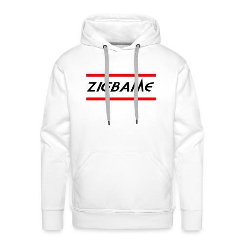 Zigbame - Sweat-shirt à capuche Premium pour hommes