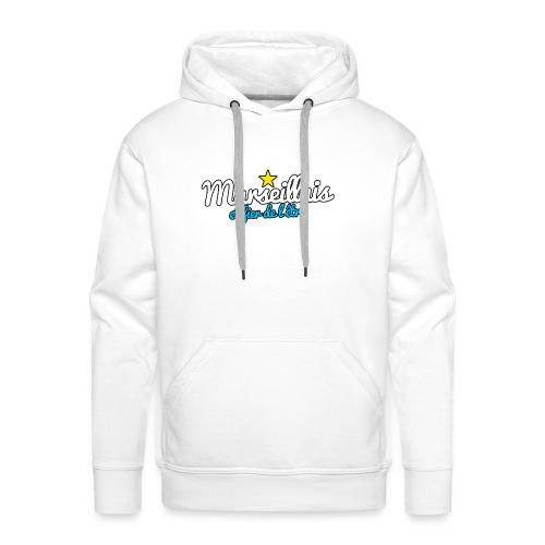 Collection Marseillais et fier de l'être - Sweat-shirt à capuche Premium pour hommes