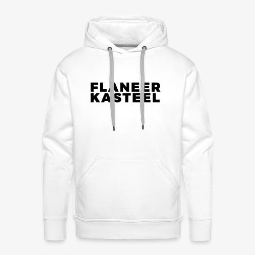 Flaneer Kasteel - Mannen Premium hoodie