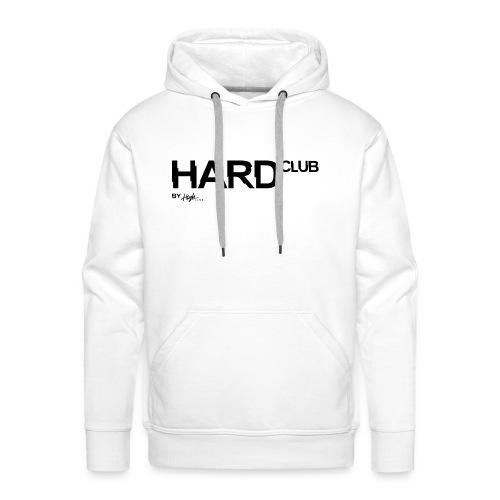 HardClub Black - Männer Premium Hoodie