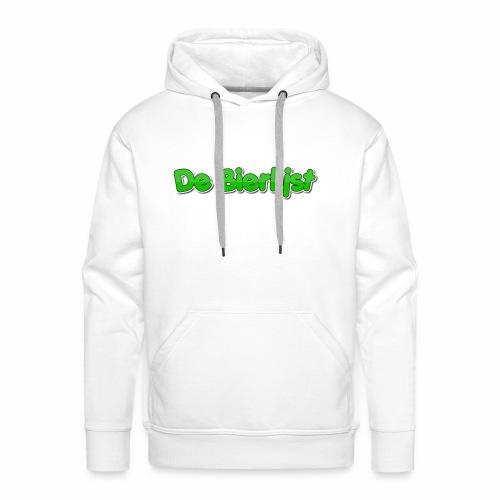 De Bierlijst - Mannen Premium hoodie