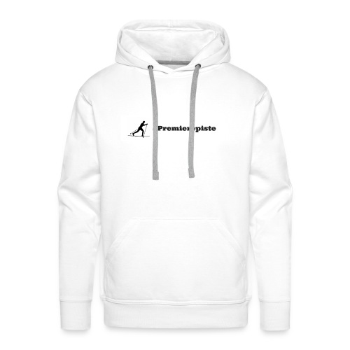 Premierepiste Skieur de fond - Sweat-shirt à capuche Premium pour hommes