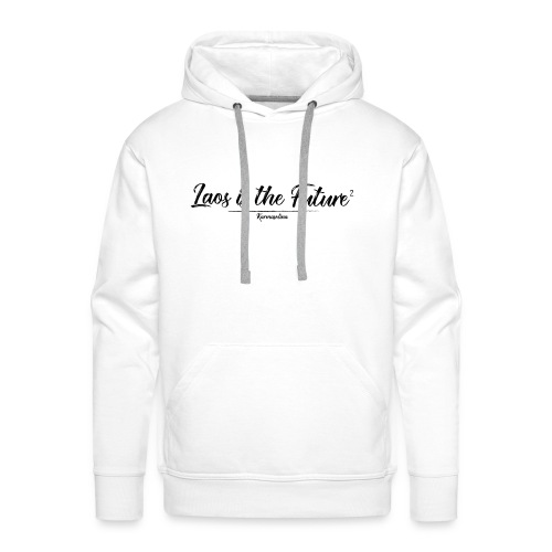 Lao is the future 2 - Sweat-shirt à capuche Premium pour hommes