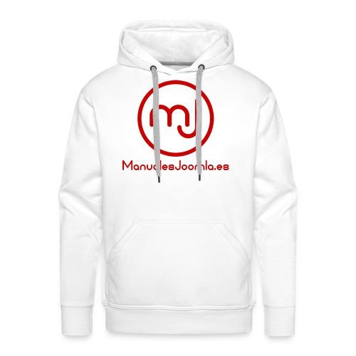ManualesJoomla.es - Sudadera con capucha premium para hombre