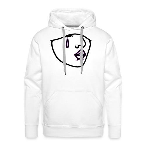 LOGO NOIR CONTOUR - Sweat-shirt à capuche Premium pour hommes