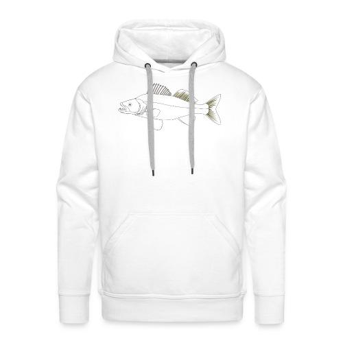 Zielfisch Zander - Männer Premium Hoodie