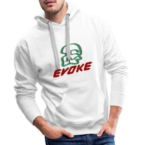 EVOKE skull - Men's Premium Hoodie