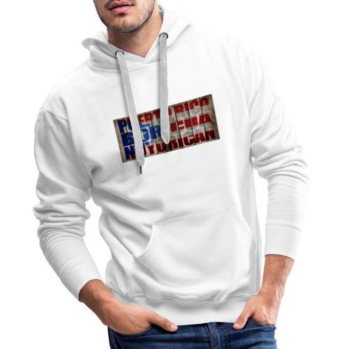 # Salsa Es La Cura Puerto Rico Boricua Nuyorican - Sweat-shirt à capuche Premium pour hommes