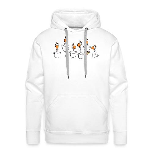 crazy chicken - Männer Premium Hoodie