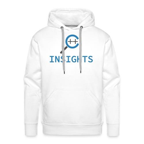 C++ Insights & Text - Männer Premium Hoodie
