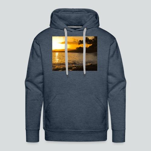 ISLAND STYLE 03-14-jpg - Felpa con cappuccio premium da uomo
