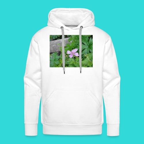 shirt bloem - Mannen Premium hoodie
