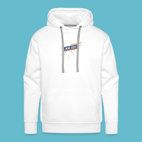 I AM LEV Banner - Mannen Premium hoodie