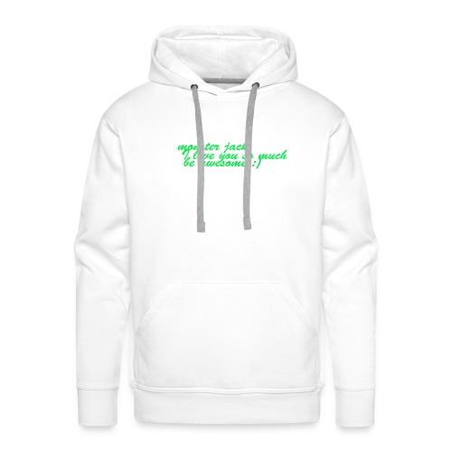 monster jack logo - Men's Premium Hoodie
