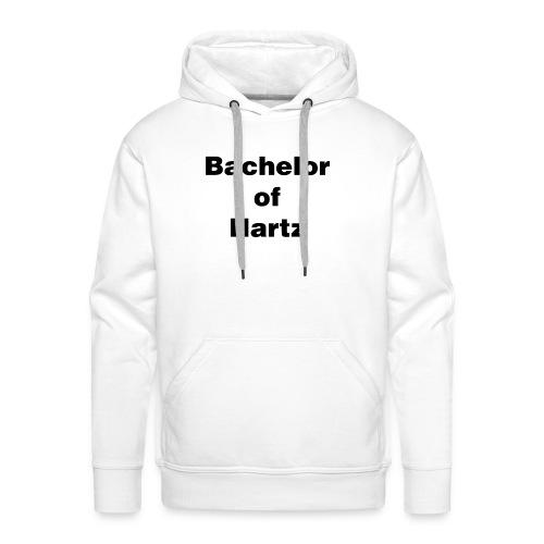bachelor of hartz - Männer Premium Hoodie