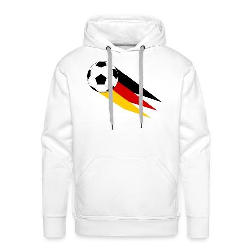 Fussball Deutschland - Männer Premium Hoodie