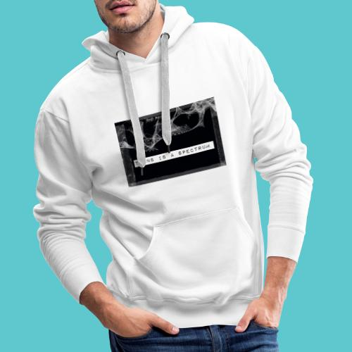 Trans is a spectrum - Men's Premium Hoodie