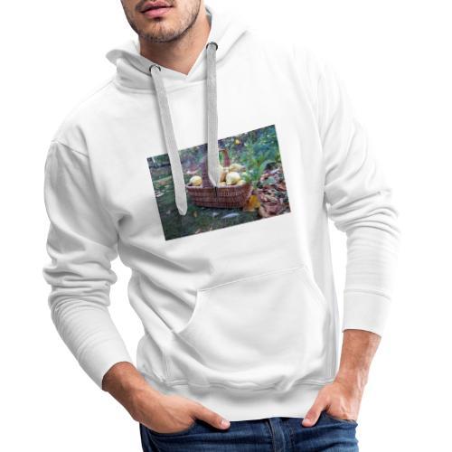 Quitten-Korb - Männer Premium Hoodie