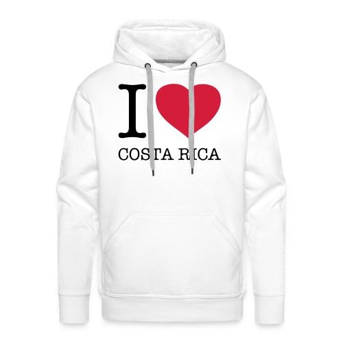 I love Costa Rica - Men's Premium Hoodie