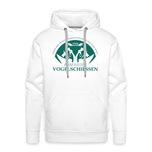 Logo Wanfrieder Vogelschiessen Einfarbig - Männer Premium Hoodie