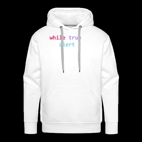 whilte(true) tee - Men's Premium Hoodie