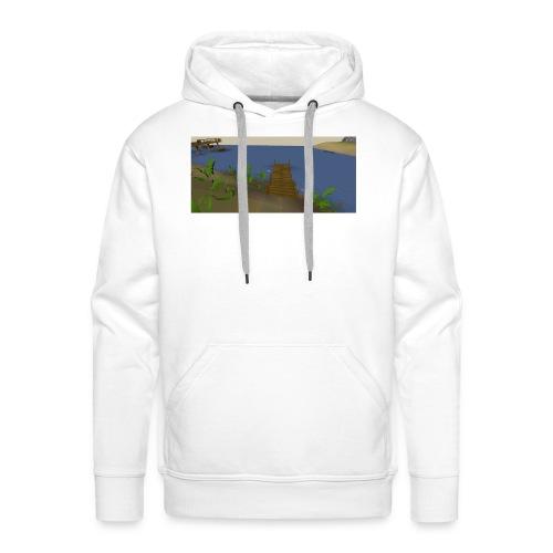 Fishing spot - Mannen Premium hoodie