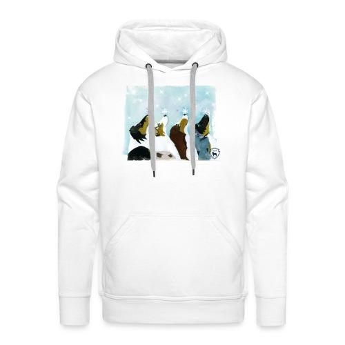 NMASK-trøye med kunsttrykk malt av Tanja Vean - Premium hettegenser for menn