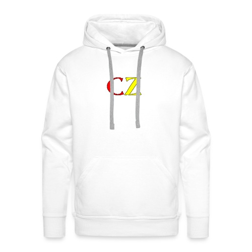 CZ normale teddybeer - Mannen Premium hoodie