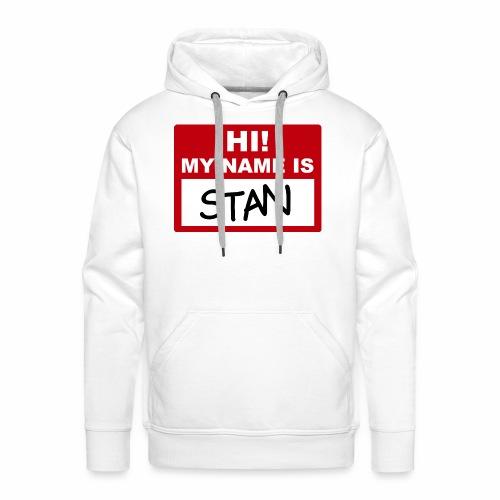 Stan - Sudadera con capucha premium para hombre