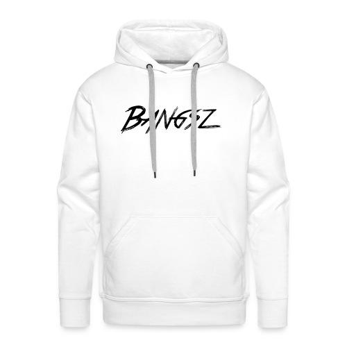 Bangsz T-shirt - Black print - Mannen Premium hoodie