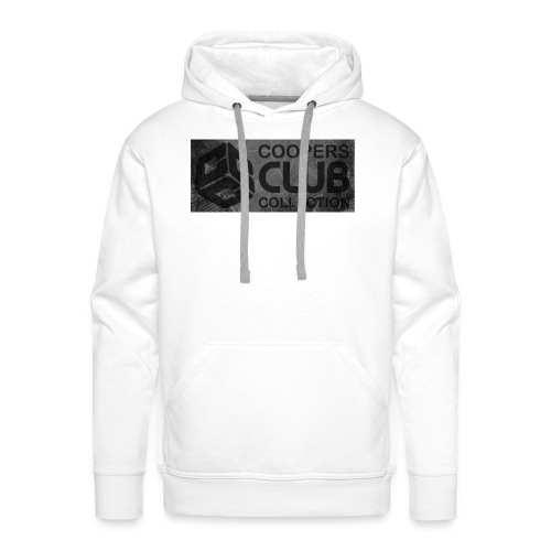 Coopers Club Collection distressed logo - Men's Premium Hoodie