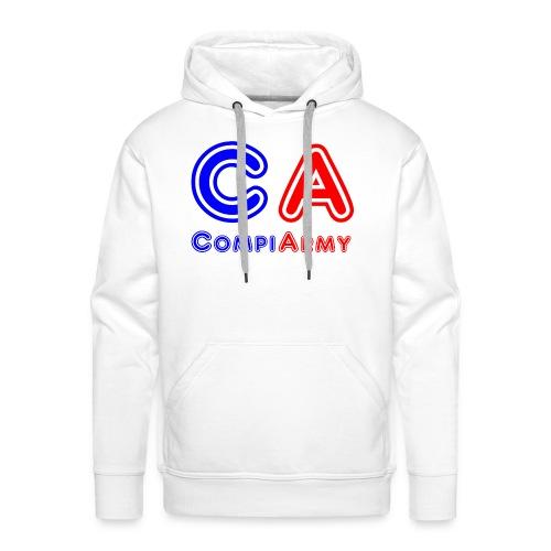 CompiArmy Design | bit.ly/compiarmyyt - Männer Premium Hoodie