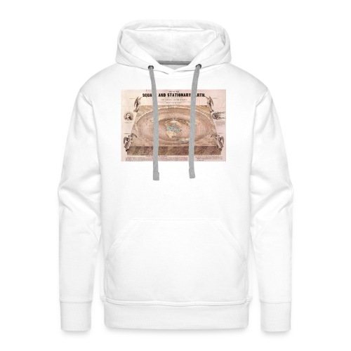 Earth in a square - Men's Premium Hoodie