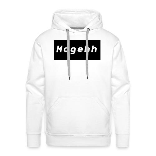 Mogehh logo - Men's Premium Hoodie